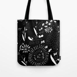 black toile by cocoblue Tote Bag