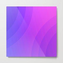 purple ambient Metal Print