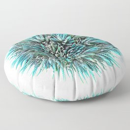 Cactus Crown 1. Blue & Green #decor #buyart Floor Pillow