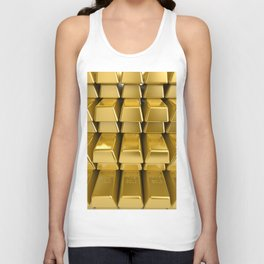 """Gold Pulling Image...""""The Secret"""" If you see again and again, you can get it. Unisex Tank Top"""