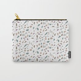Terrazzo Bianca Carry-All Pouch