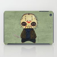 actor iPad Cases featuring  A Boy - Jason ( Friday the 13th) by Christophe Chiozzi