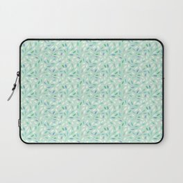 Dots and Leaves Laptop Sleeve