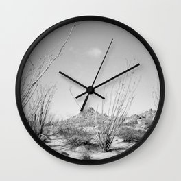 California Ocotillo Wall Clock