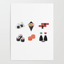 Sushi Day Poster