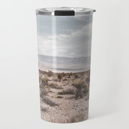 Vintage Desert Hombre // Cactus Cowboy Mojave Landscape Photograph Sunshine Hippie Mountain Decor Travel Mug