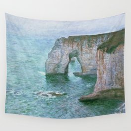 Claude Monet, French, 1840-1926 Manne-Porte, Etretat Wall Tapestry