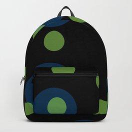 SFERE BLU E VERDI Backpack