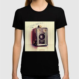 Vintage Camera Love: Kodak Brownie Target Six-16! T-shirt