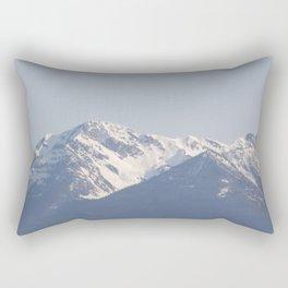 Mountain along the Coquihalla 2 Rectangular Pillow