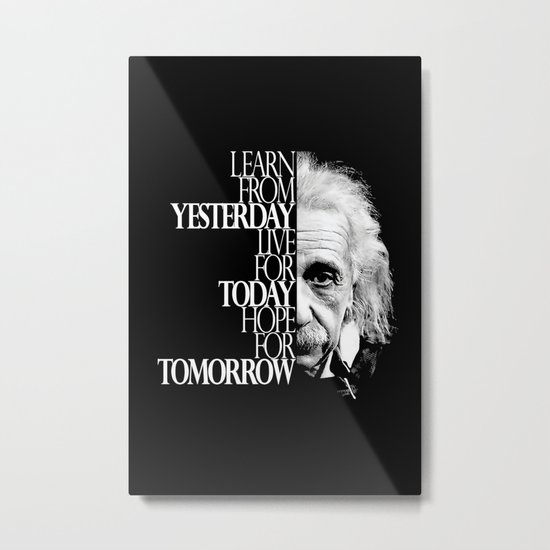 Live for Today Metal Print