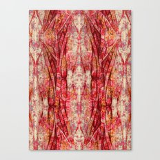 Ripped and Rosy Canvas Print