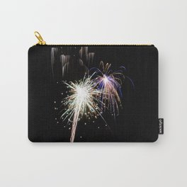 Electric Blue Highlights Carry-All Pouch