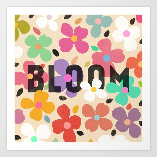 Bloom by Galaxy Eyes & Garima Dhawan Art Print
