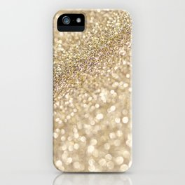 golden glow iPhone Case
