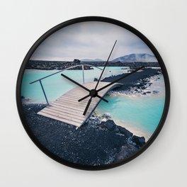 Iceland Blue Lagoon Wall Clock