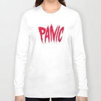 panic at the disco Long Sleeve T-shirts featuring PANIC by Chris Piascik