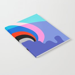 Mid Century Abstract 002 Notebook