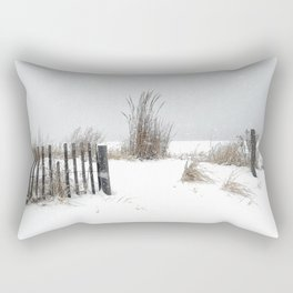 Snow and Sand Rectangular Pillow