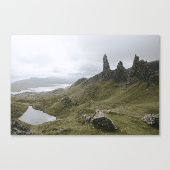 The Old Man of Storr - Landscape Photography Canvas Print