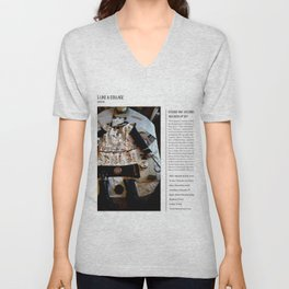 My Life Is Like A Collage / Art Stories Unisex V-Neck