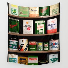 Old Cans Wall Tapestry