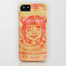 New Years Riri iPhone Case