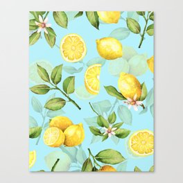 Vintage & Shabby Chic - Lemonade Canvas Print