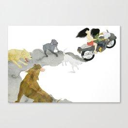 Getaway Canvas Print