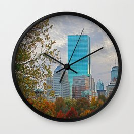BOSTON STAND UP Wall Clock