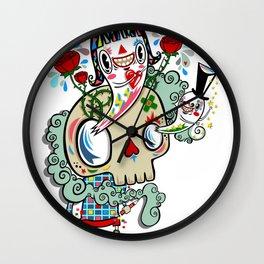 Polypop The Skull Wall Clock
