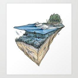 Orcas Point Art Print