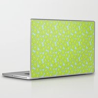 lime green Laptop & iPad Skins featuring lime by Tanya Pligina