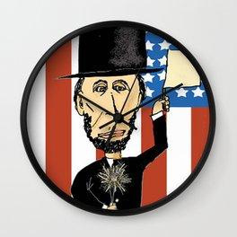 President Lincoln Celebrates Wall Clock
