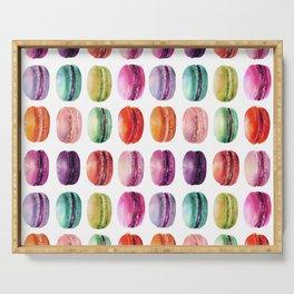 macaron lollipops Serving Tray