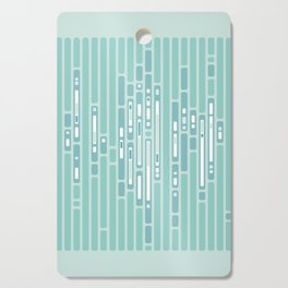 Ocean Reflection – Blue / Teal Midcentury Abstract Cutting Board