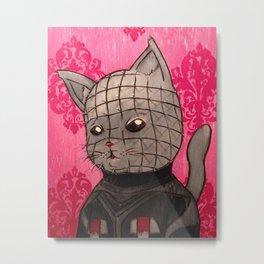 Cathouse Of Horrors Series: Pinhead Metal Print