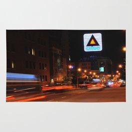 See It Go -- Boston Night.  Kenmore Square Rug