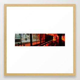 City Scape Framed Art Print