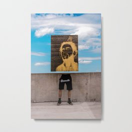 4 Your Eyez Only Metal Print