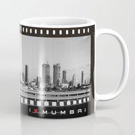 I Love Mumbai- BW Mumbai Skyline Coffee Mug