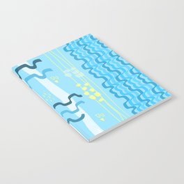 Water rays Notebook
