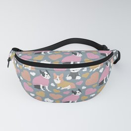 Dogs in Sweaters Fanny Pack