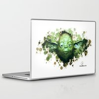yoda Laptop & iPad Skins featuring Yoda by Rene Alberto