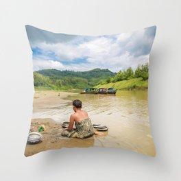Bandarban Throw Pillow