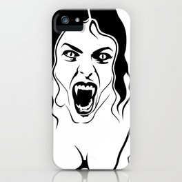 Vampirfrau iPhone Case