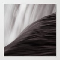 waterfall Canvas Prints featuring Waterfall by Alexandra Str