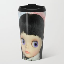 Winter, cold and windy day Travel Mug