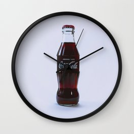 Thirsty Wall Clock
