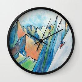 Push Yourself Wall Clock